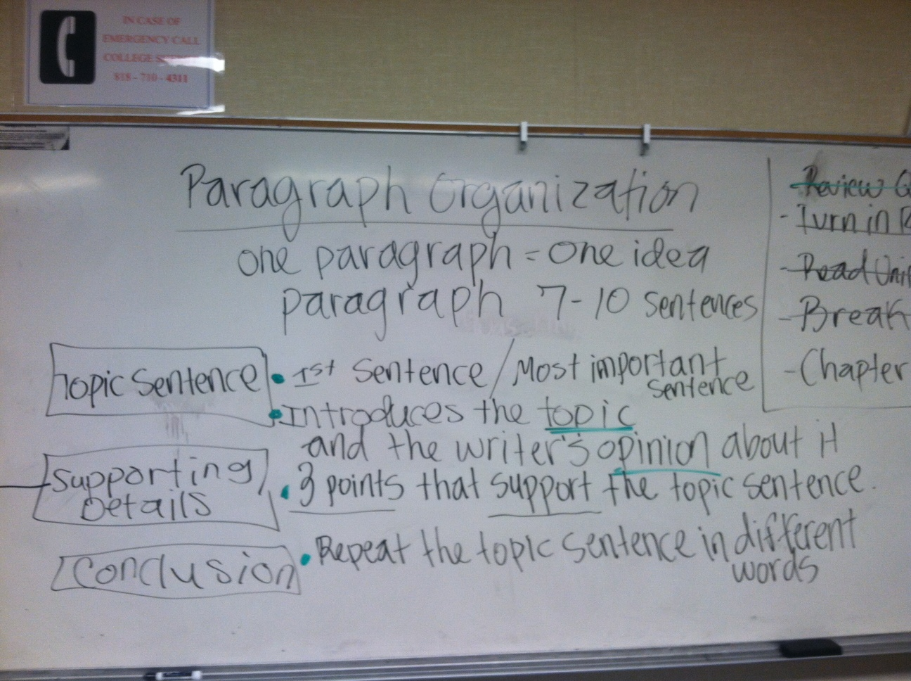 eng82 [licensed for non-commercial use only] / Paragraph Organization